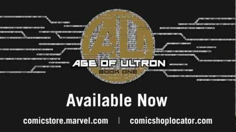 Age of Ultron 4 Cover Recap - Marvel AR