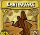 Earthquake Treasure Card