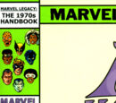 Marvel Legacy: The 1970's Handbook Vol 1 1