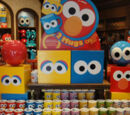 Sesame Street Big Face mugs (Universal Studios Japan)