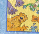 Bear in the Big Blue House napkins