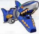 Gosei Shark Mechazord