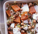 Butternut Squash, Leek and Goat Cheese Casserole
