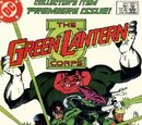 Green Lantern Corps/Covers
