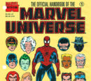 Official Handbook of the Marvel Universe Master Edition Vol 1