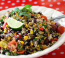 Healthy Black Bean and Rice Salad