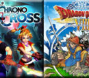 (8)Chrono Cross vs (9)Dragon Quest VIII: Journey of the Cursed King 2010
