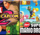 (8)Marvel vs. Capcom 2 vs (9)New Super Mario Bros. Wii 2010