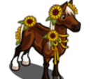 Sunflower Horse