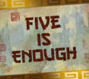 Five is Enough/Transcript