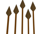 Bronze arrow