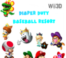 Diaper Duty Baseball Resort