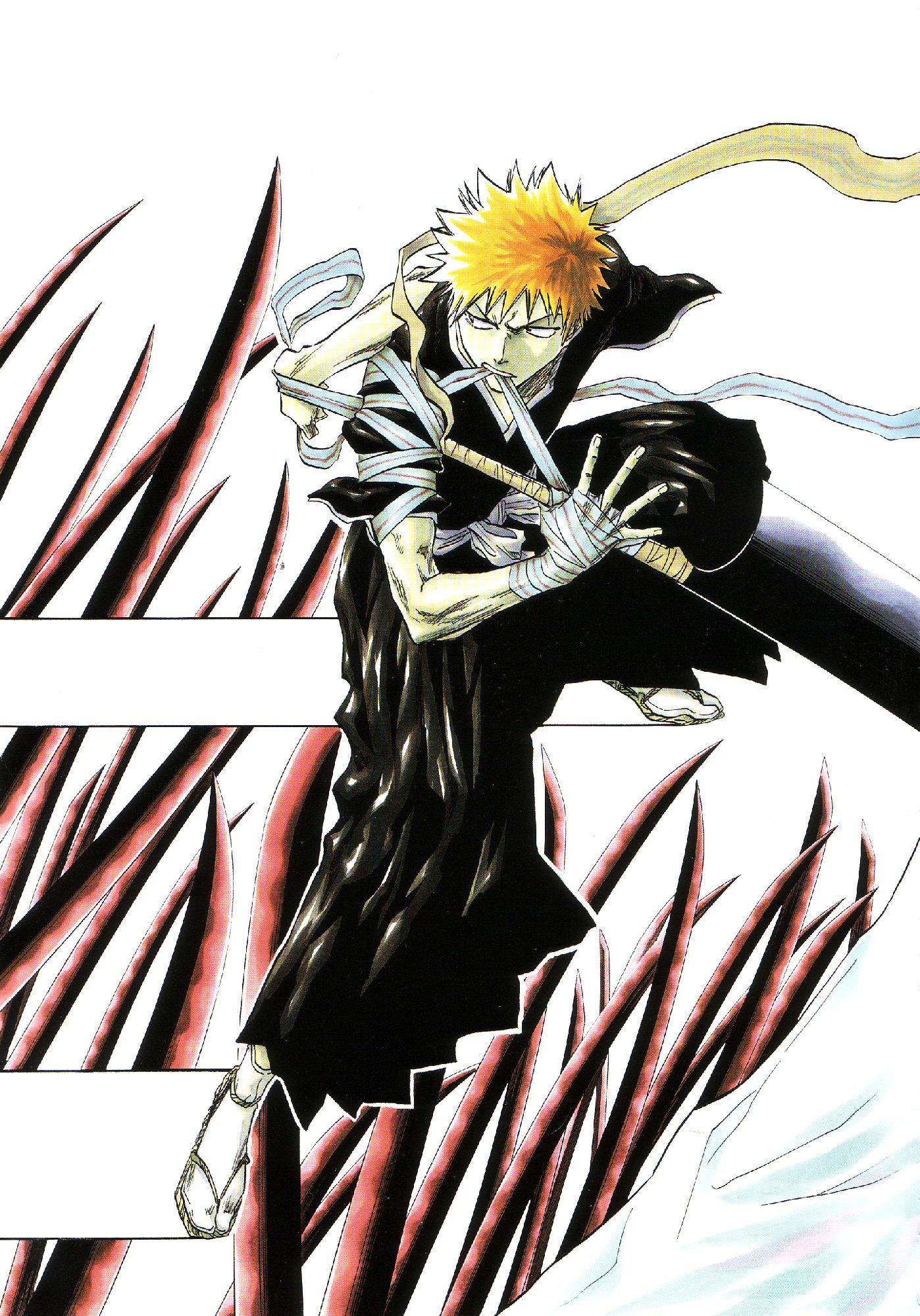 La evolucion de la mascara Hollow de Ichigo 18