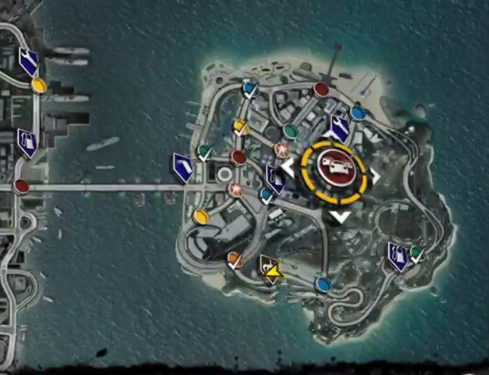 burnout paradise event map with 12417 Burnout Paradise Bigsurf Isalnd on Guide together with 12417 Burnout Paradise Bigsurf Isalnd likewise Fortnite Game Modes Guide Fortnite Solid Gold Mode Explained furthermore The Goonies 25 Years Later as well Showthread.
