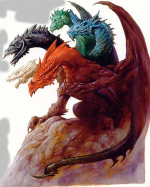 Tiamat: The Chromatic Dragon