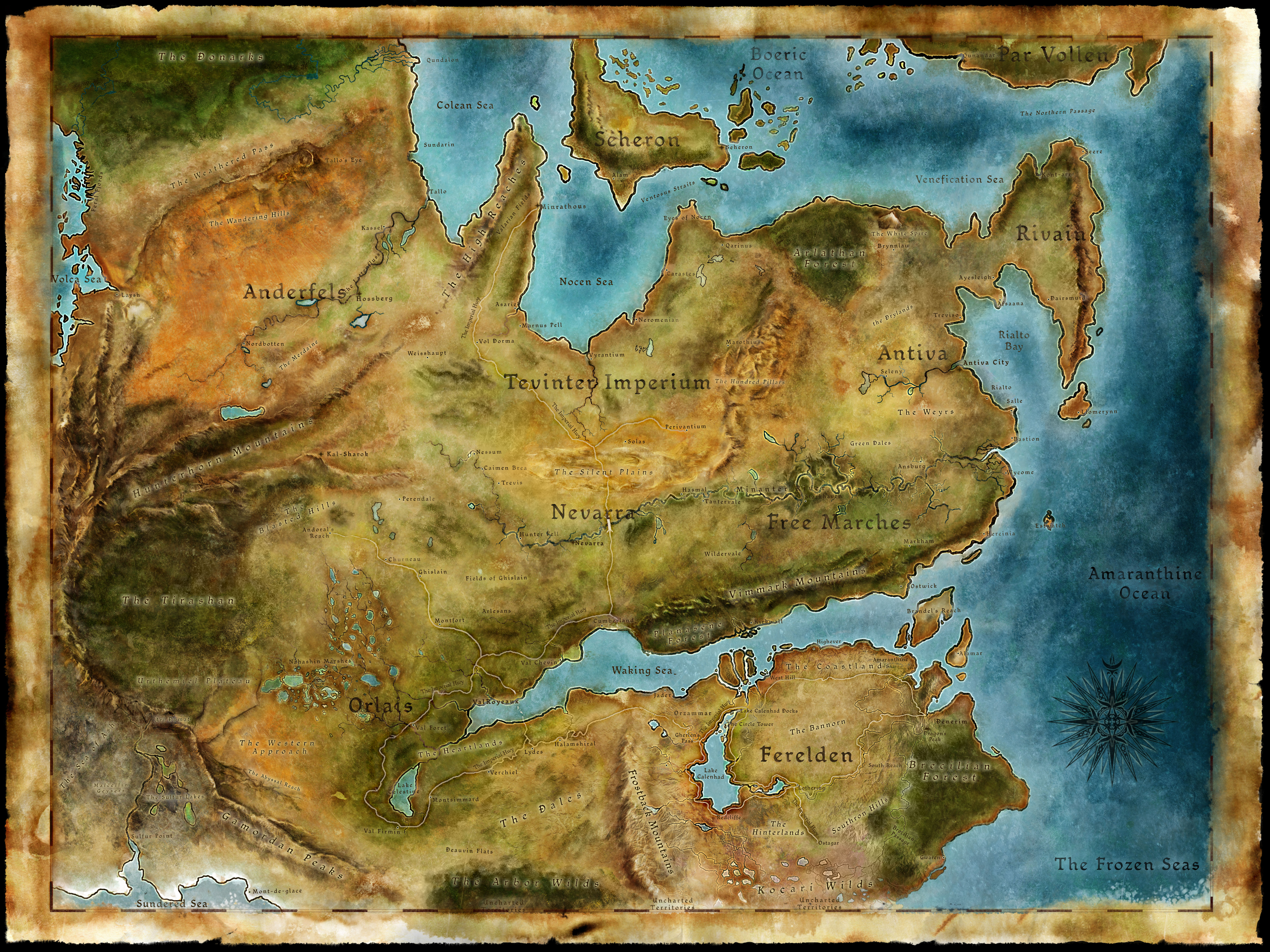 Left justified fantasy map tv tropes world map here quite gumiabroncs Gallery