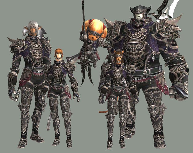 Bringing back some FFXI armor sets