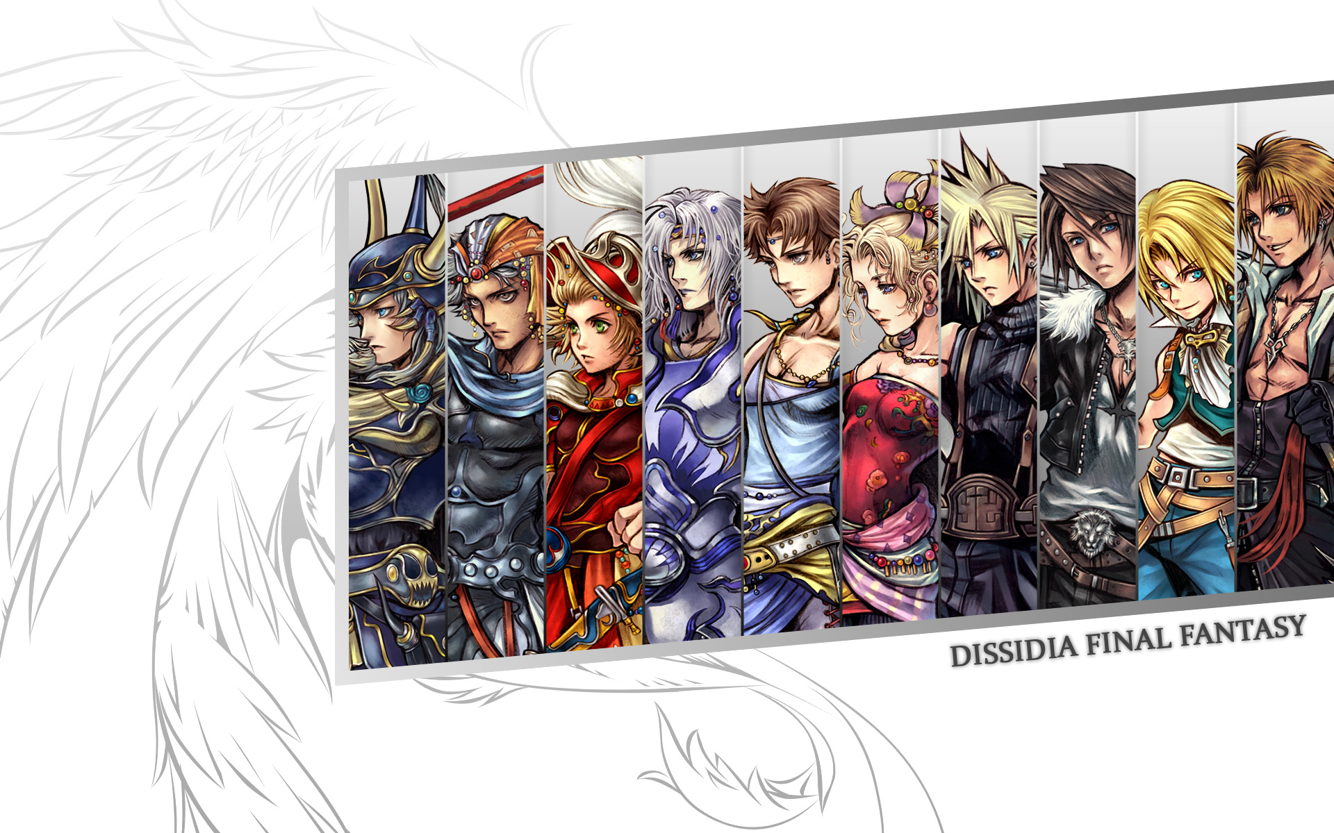 Dissidia Final Fantasy Wallpapers information The Full Wiki