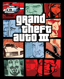 GTA III North American Cover