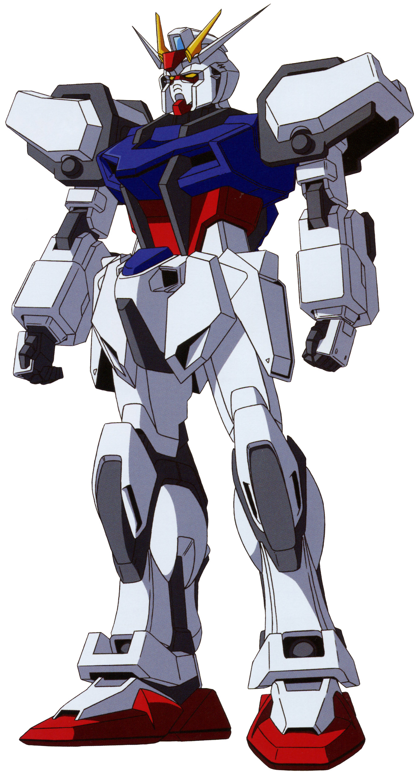 GAT-X105 Strike Gundam From the First season of Gundam SEED