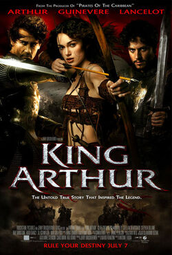 A USA movie poster for the movie King Arthur