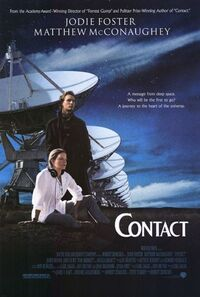 Contact Promotional Movie Poster