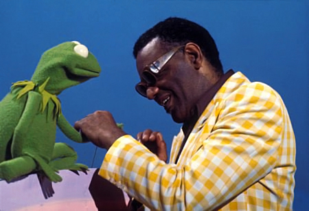#TuesdayTune, 'It's Not Easy Being Green' , Ray Charles, Tuesday Tune, Tuesday Tune Linky Party,