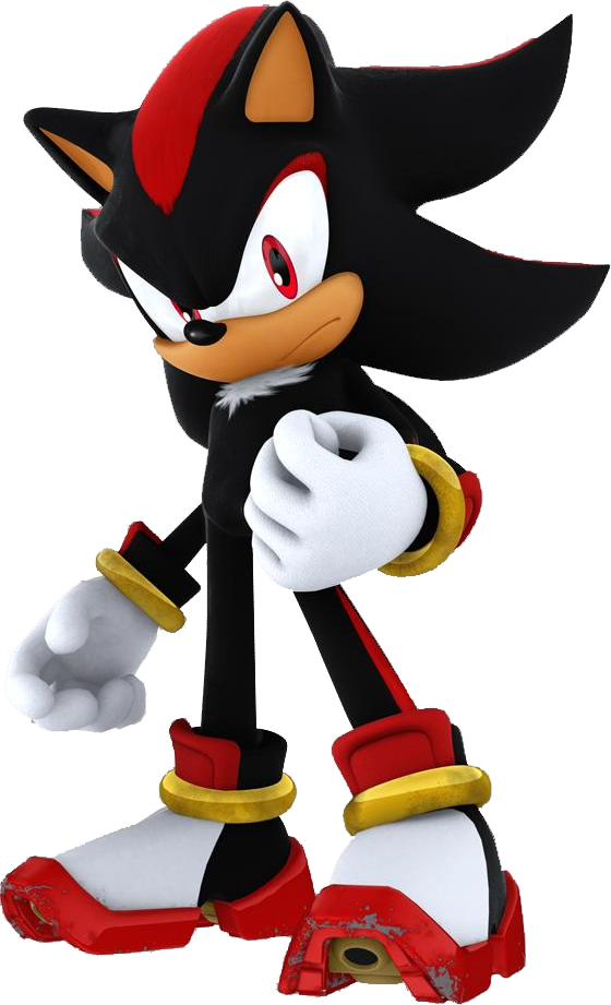 shadow the hedgehog  (post por el 20 aniversario de sonic)