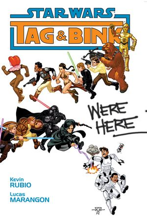 Star Wars   Tag & Bink Were Here (Dark Horse 2006)   TPB preview 0