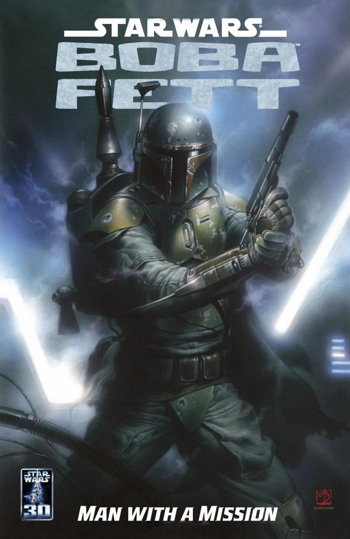 Star Wars   Boba Fett   Man With A Mission (Dark Horse 2007)   TPB preview 0