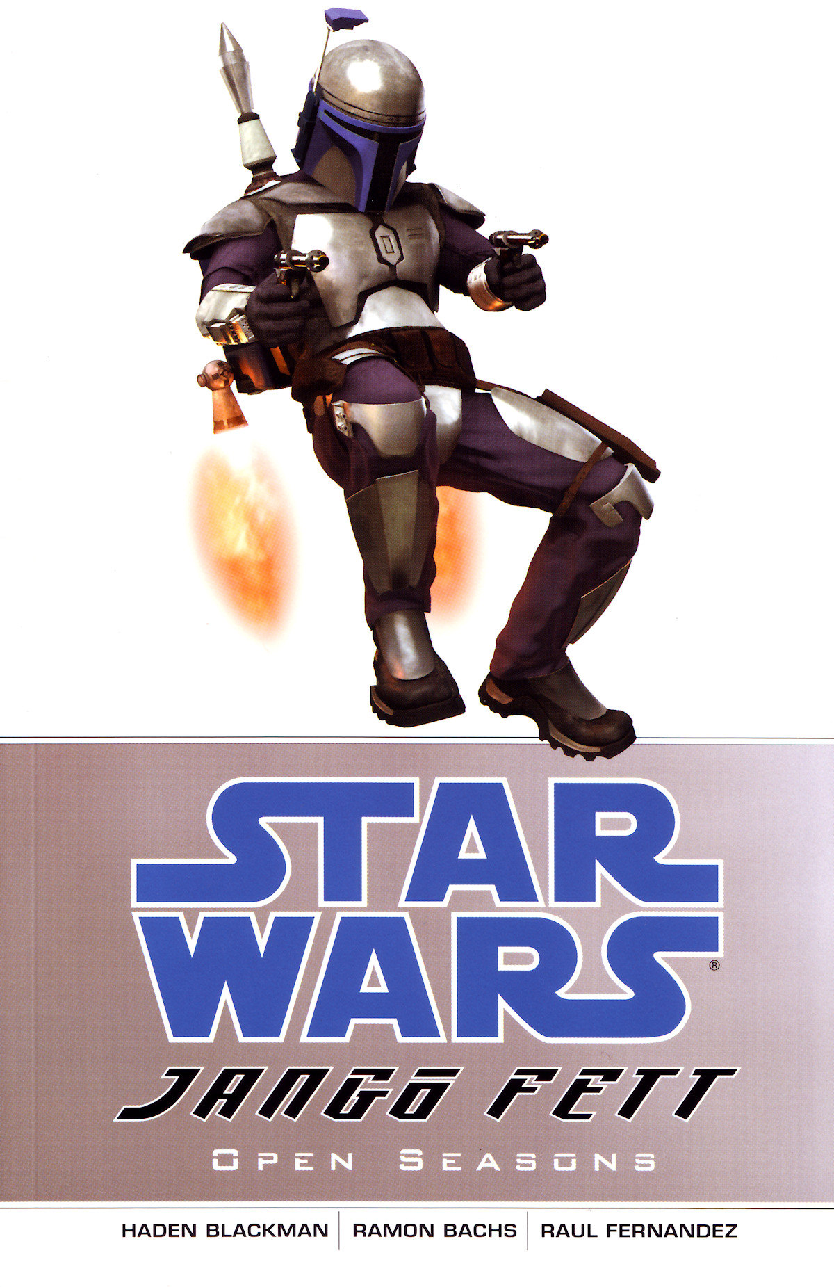 Star Wars   Jango Fett   Open Seasons (Dark Horse 2002)   TPB preview 0