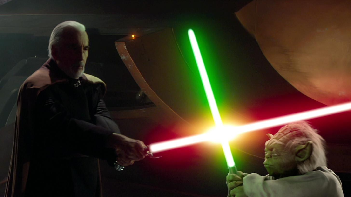 dooku x Yoda