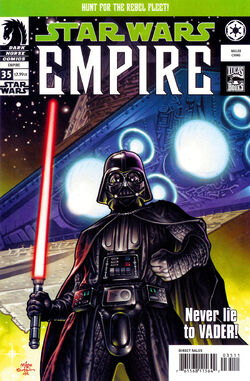 Star Wars: Empire # 35, Millers first SW comic