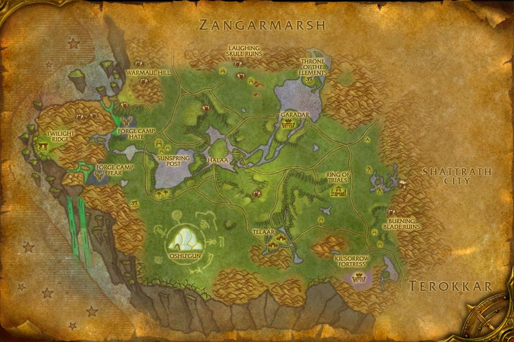 Ethereum staging grounds wow map of draenor