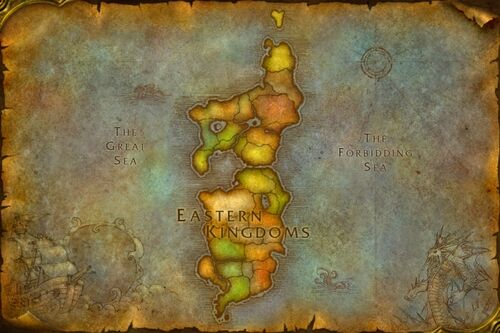 world of warcraft map level ranges. Interactive map of the Eastern