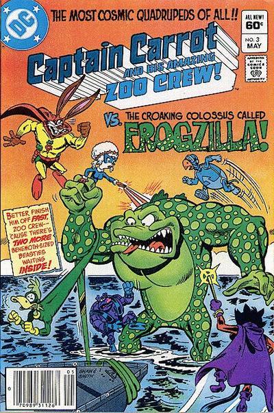 Captain Carrot and His Amazing Zoo Crew Vol 1 3 - DC Comics Database
