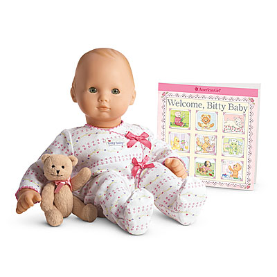 American Girl Bitty Baby Clothing Patterns Sewing
