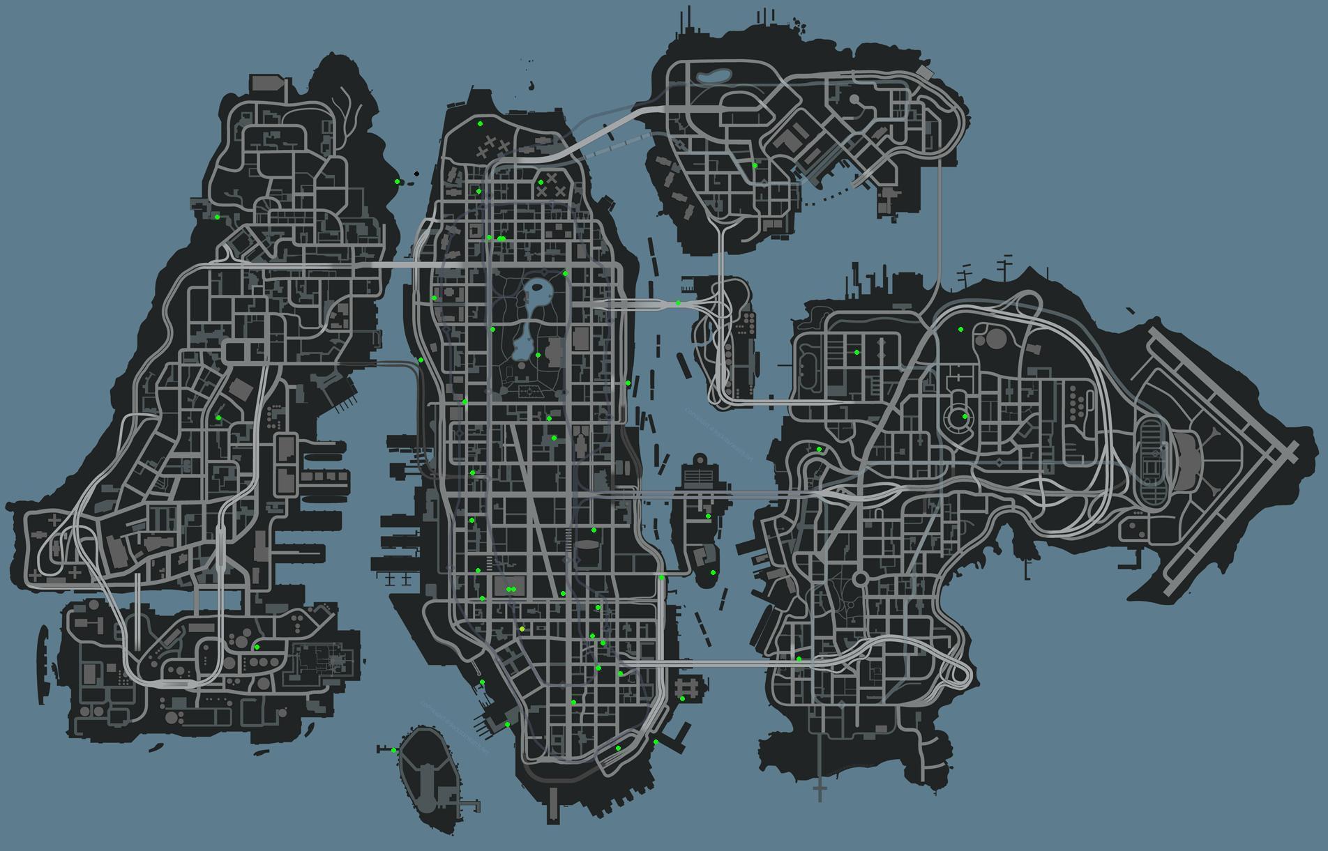 চিটকোড এন্ড ট্রেইনার জোন: GTA IV, Chaos Legion.