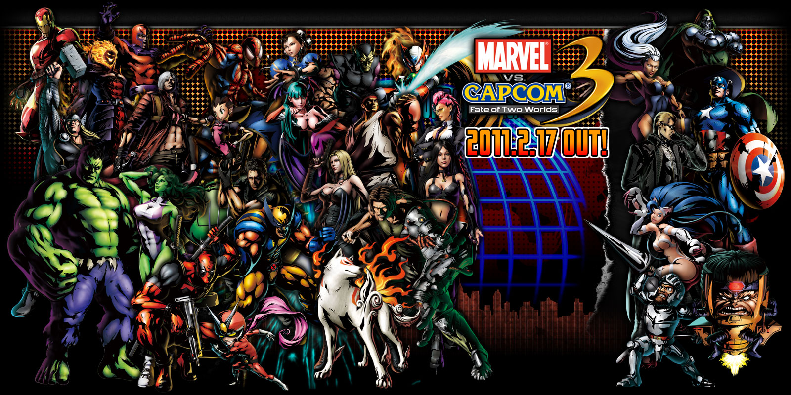 Desktop Wallpaper Marvel Vs Capcom 3 Fate Of Two Worlds