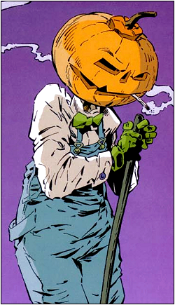 Sandman Merv Pumpkinhead