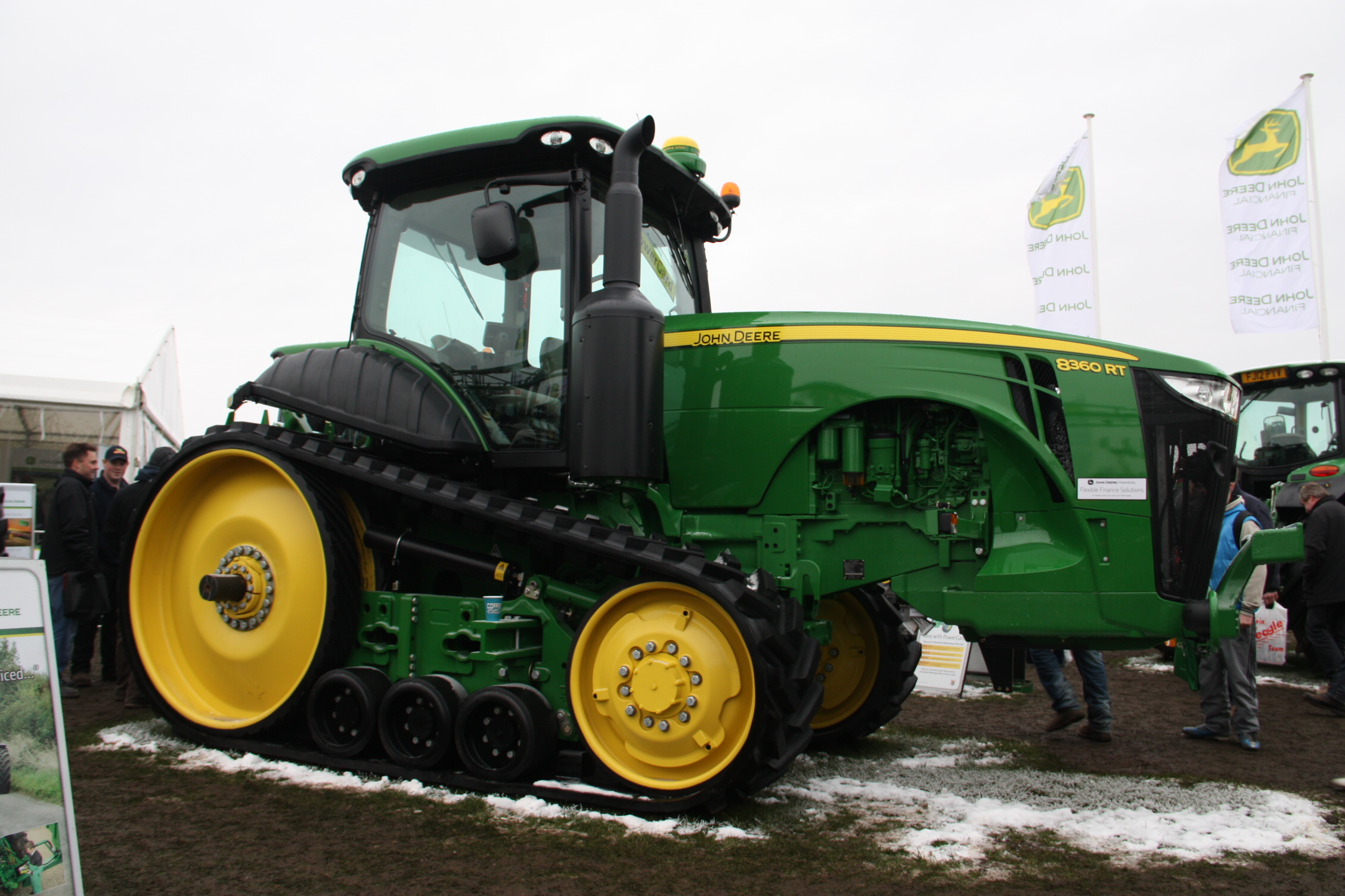 john deere 8360 rt - tractor & construction plant wiki