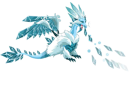 Ice Dragon 3d